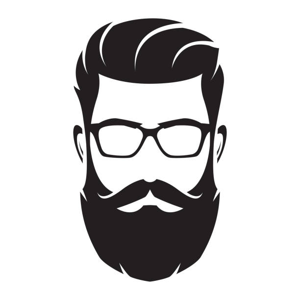 Bilderesultater for Men with big beard illutration